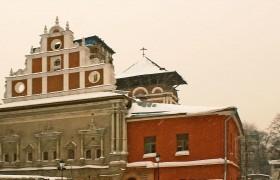 Храм Тихвинской иконы Божией Матери Симонова монастыря